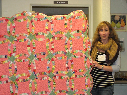 Kate's first quilt