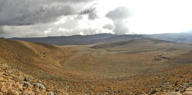 Vistas desde el Tullu Demtu. 4377 m