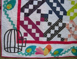 Raffle Quilt to benefit Wellspring Living