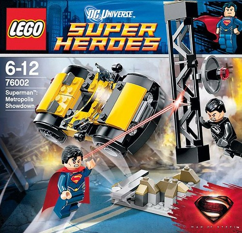 76002 Superman Metropolis Showdown box