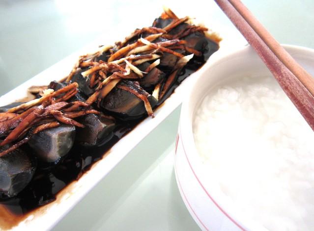With porridge