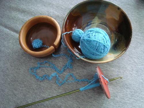 Preparing to spin