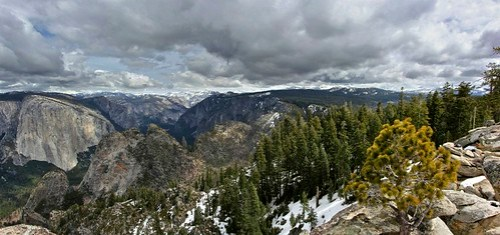Panoramic from Dewey Point