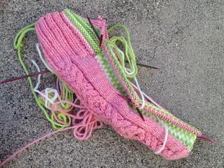 Sock strap sock