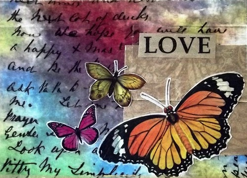 Handmade Card: Love Always
