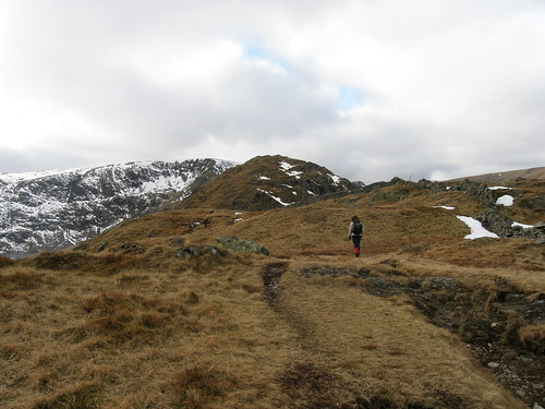 Approaching Rough Crag summit