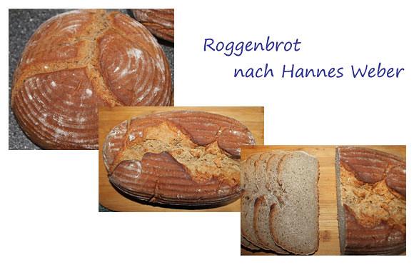 Roggenbrot nach Hannes Weber