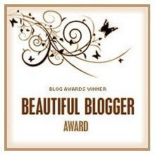 beautiful blogger award graphic
