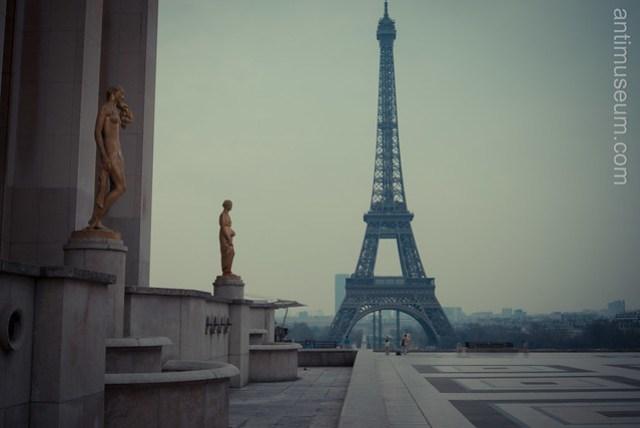 Eiffel Tower from Trocadero - Paris