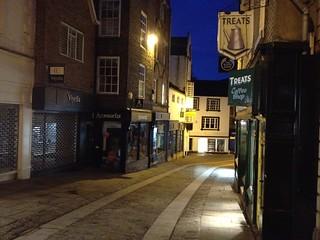 Silver Street at 6am, Durham
