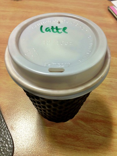 Bucket Cafe latte