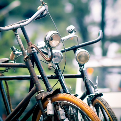 classic bicycle community in my town by nomilknocry