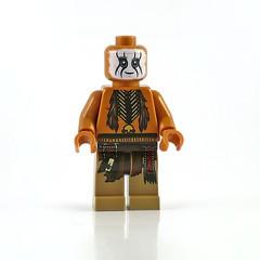 The Lone Ranger 79107 Comanche Camp figs05