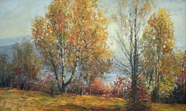 pictură de Mihai Olteanu