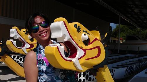 cute dragon boat head Pangasinan Pistay Dayat 2013