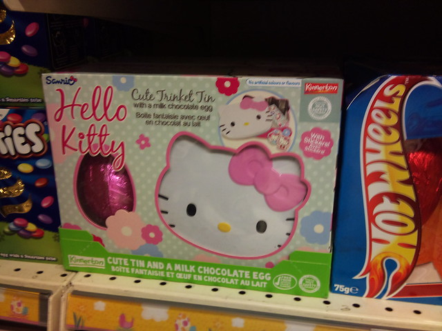 Hello Kitty Easter eggs (UK)