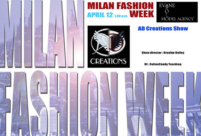 Milan Fashion Week by Solo Evane - AD CREATIONS