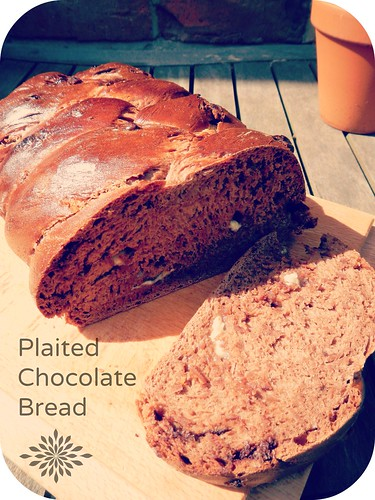 Plaited Chocolate Bread