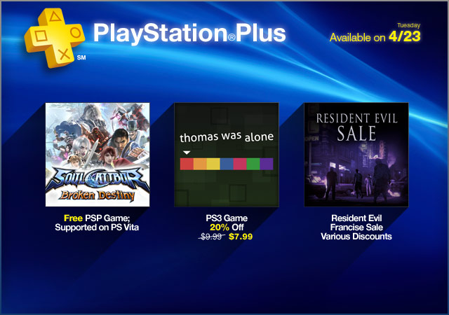PlayStation Store Update 4-23-2013
