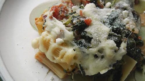 Spinach & Mushroom Rigatoni 16