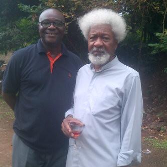 Professor Wole Soyinka & Olumide Ogunsusi by Jujufilms