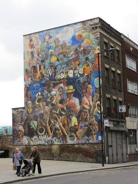Dalston mural