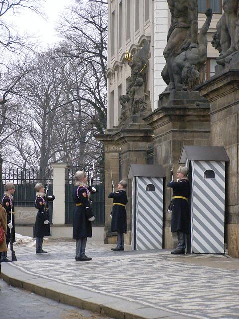 Prague Castle Guard - Czech Republic