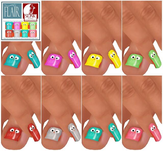 Flair - Nails Set 63