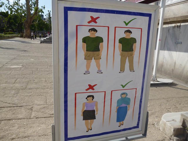 What to wear to the Blue Mosque