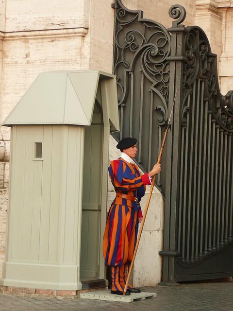 Swiss Guard - Vatican City, Italy