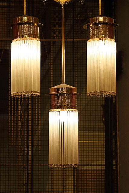 Art Nouveau lights