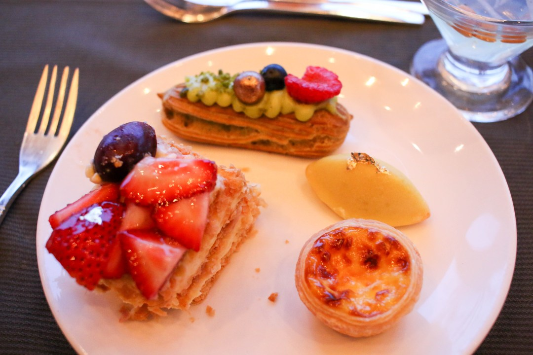 6th plate - dessert
