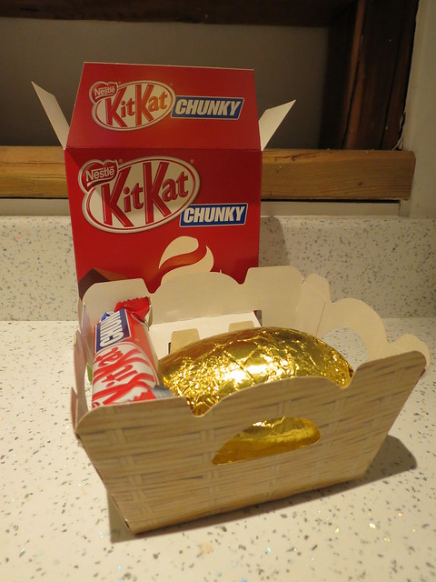 Chunky Kit Kat Easter egg