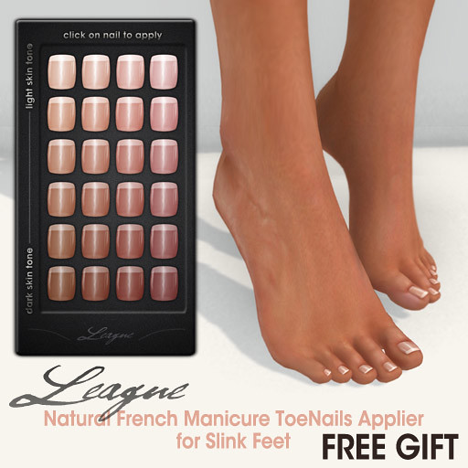 League Gift -Natural French Manicure Toenails Applier