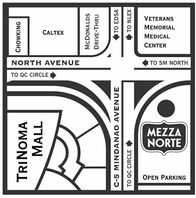 Fwd: New Mezza Norte flyer study