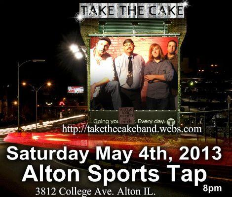 Take The Cake 5-4-13