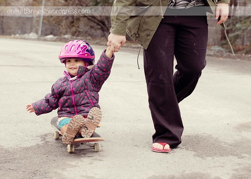Get Moving - Skateboard for the win