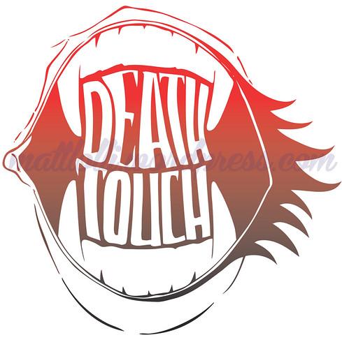 Matt Lolli Illustration Design Death Touch logo
