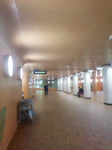 Early morning, Dupont TTC station, upper level