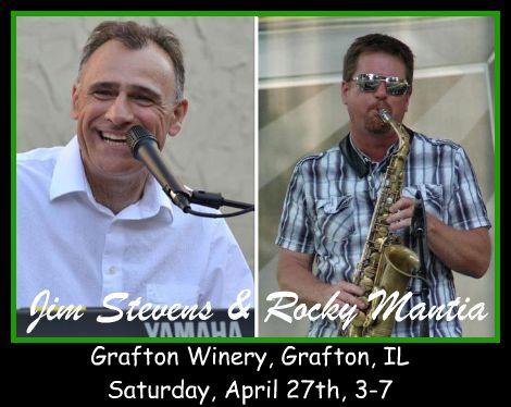 Jim Stevens & Rocky Mantia 4-27-13