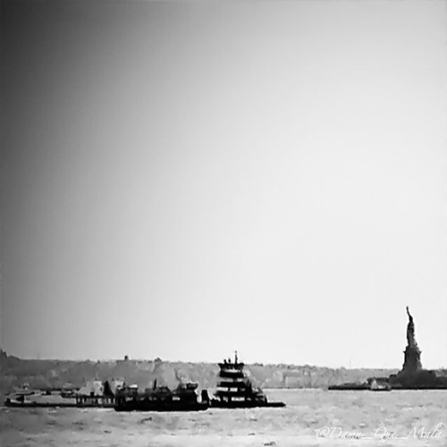 """""""Give me your tired, your poor, Your huddled masses yearning to breathe free, The wretched refuse of your teeming shore. Send these, the homeless, tempest-tossed, to me: I lift my lamp beside the golden door."""" by damn_que_mala"""