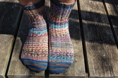 Joey's scrap socks
