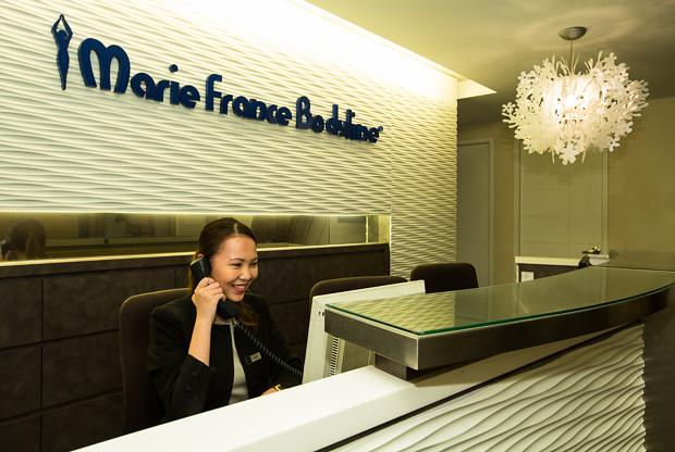 Marie France Bodyline Reception
