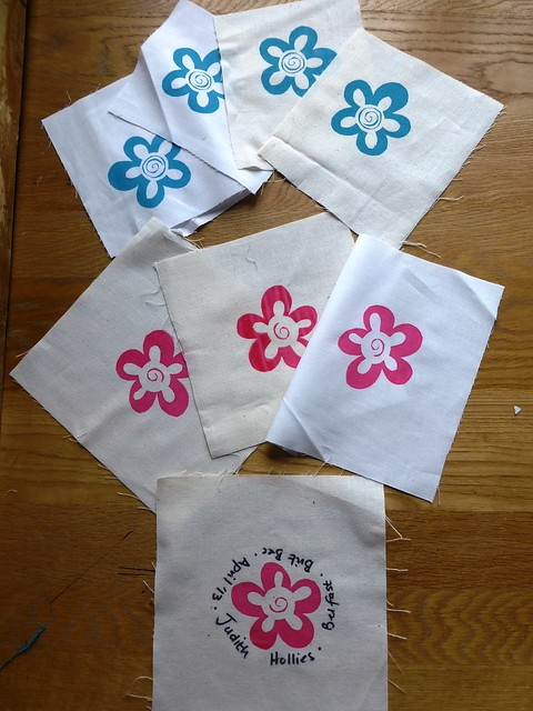 Screen printed images by Ceri