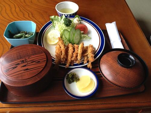 芦ノ湖名物-公魚定食