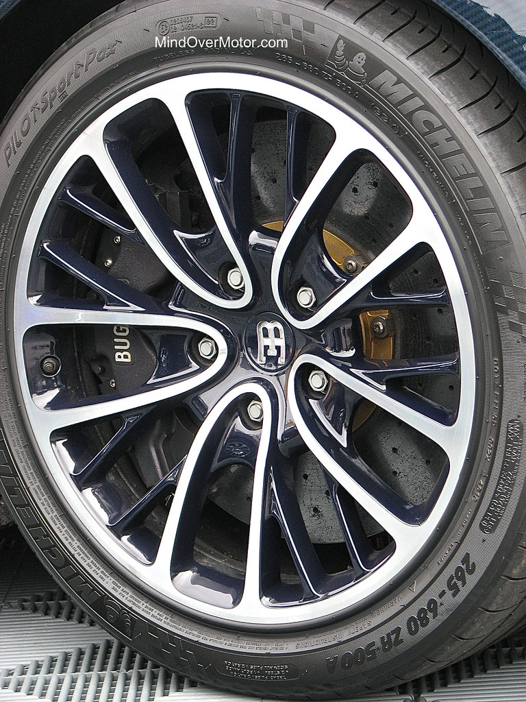 Bugatti Veyron Super Sport Wheel