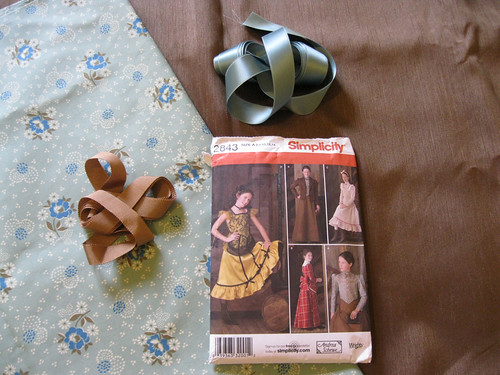 "For Clare's ""Anne of Green Gables"" dress (view A)"