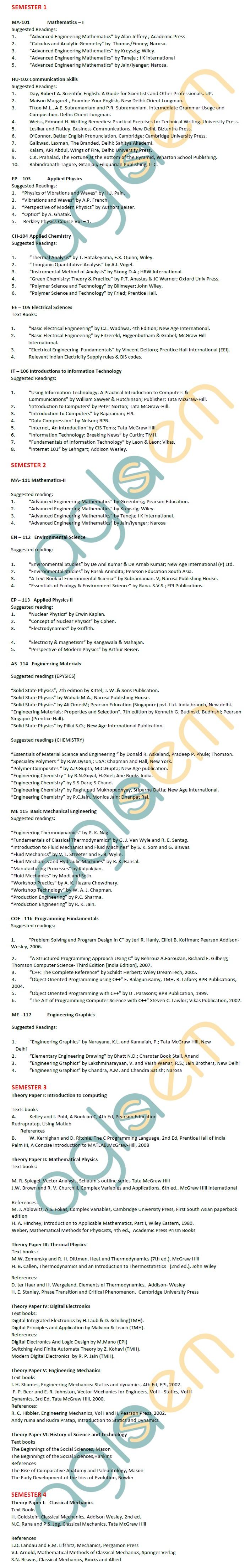 DTU Syllabus - Engineering Physics