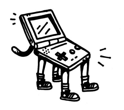 game boy cat boy