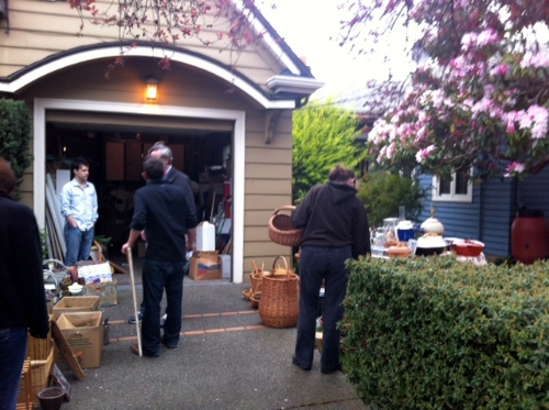 Pottery garage sale